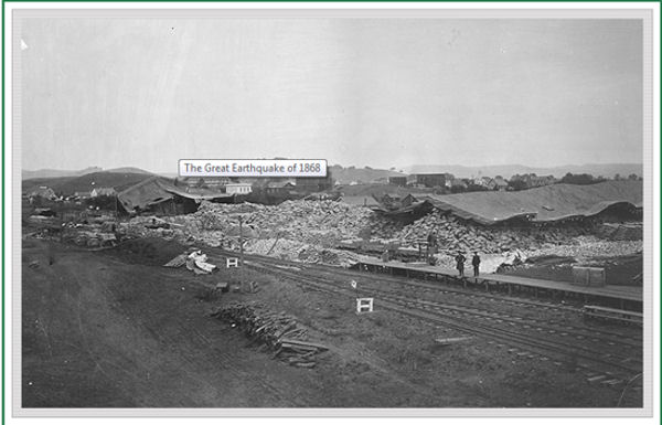 1868earthquake